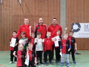 Siegermannschaft des TSV Pilsting