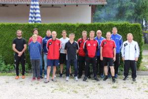 6 Trainer des TSV legten die Prüfung zum Trainer C ab